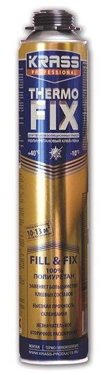 Клей-пена KRASS Professional THERMO FIX